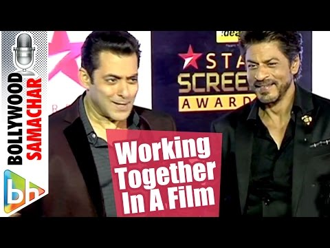 Salman Khan | Shah Rukh Khan On Working Together In A Film | MUST WATCH