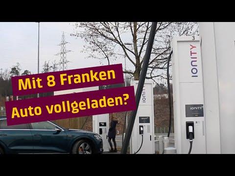 Mit 8 Franken Auto vollgeladen?   E-Mobility   BKW