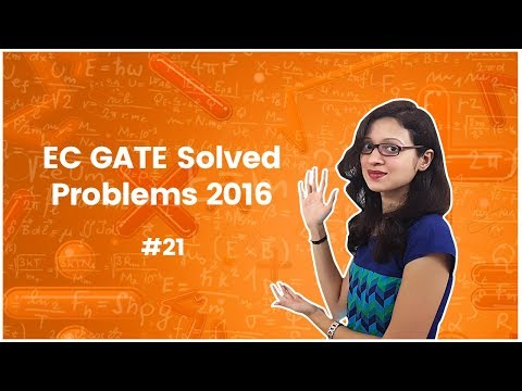 Linear Algebra - GATE Solved Problems - 2016 | EC. GATE – Engineering Mathematics