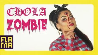 Chola Zombie Halloween Makeup Tutorial | ft. Sheslulu