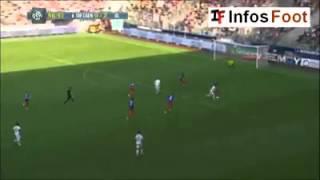Caen 0-4 Lyon - Les Buts !!