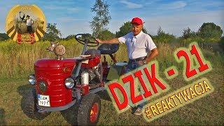 Remont i renowacja ciągnika Dzik - 21.  Jedyny taki egzemplarz w Polsce ;)