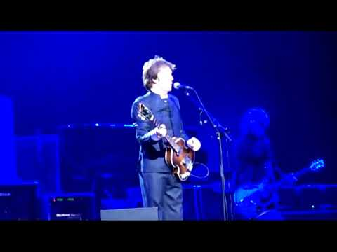 Paul McCartney Live At The Koln Arena, Cologne, Germany (Wednesday 16th December 2009)