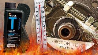 Bizol Technology 5W20 Jak skutecznie olej chroni silnik? 100°C