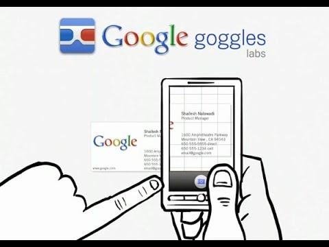 Goggles uygulaması ile  Resmini çekerek Google