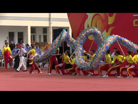 Dragon Dance competition in Kunshang, Shanghai 2013