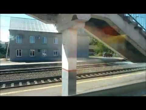 Поездка на поезде №107 из Пензы в Санкт-Петербург