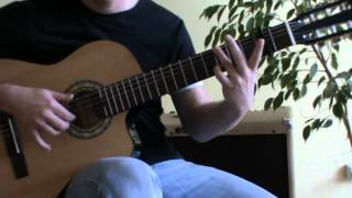 Fast Car acoustic guitar cover with TAB - acoustic guitar lesson