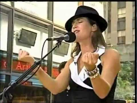 Today Show 2003 AMY GRANT sings EVERY HEARTBEAT