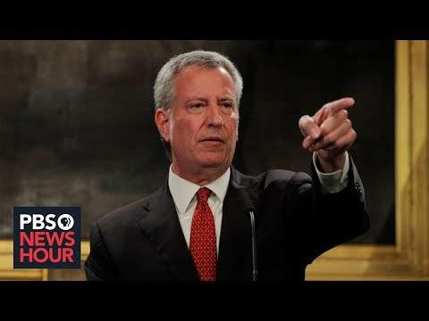 What Bill de Blasio would do to counter rise of white supremacy and deadly violence