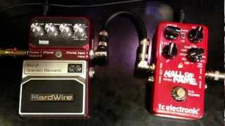 hardwire rv 7 vs tc electronic hall of fame reverb