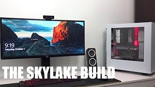 Best $800 Gaming PC Build Gigabyte z170 Gaming i5 6500 8Gb DDR4 Rams GTX 1070 PART 1 (USED PARTS)