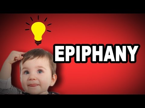 Learn English Words: EPIPHANY - Meaning, Vocabulary With Pictures And Examples