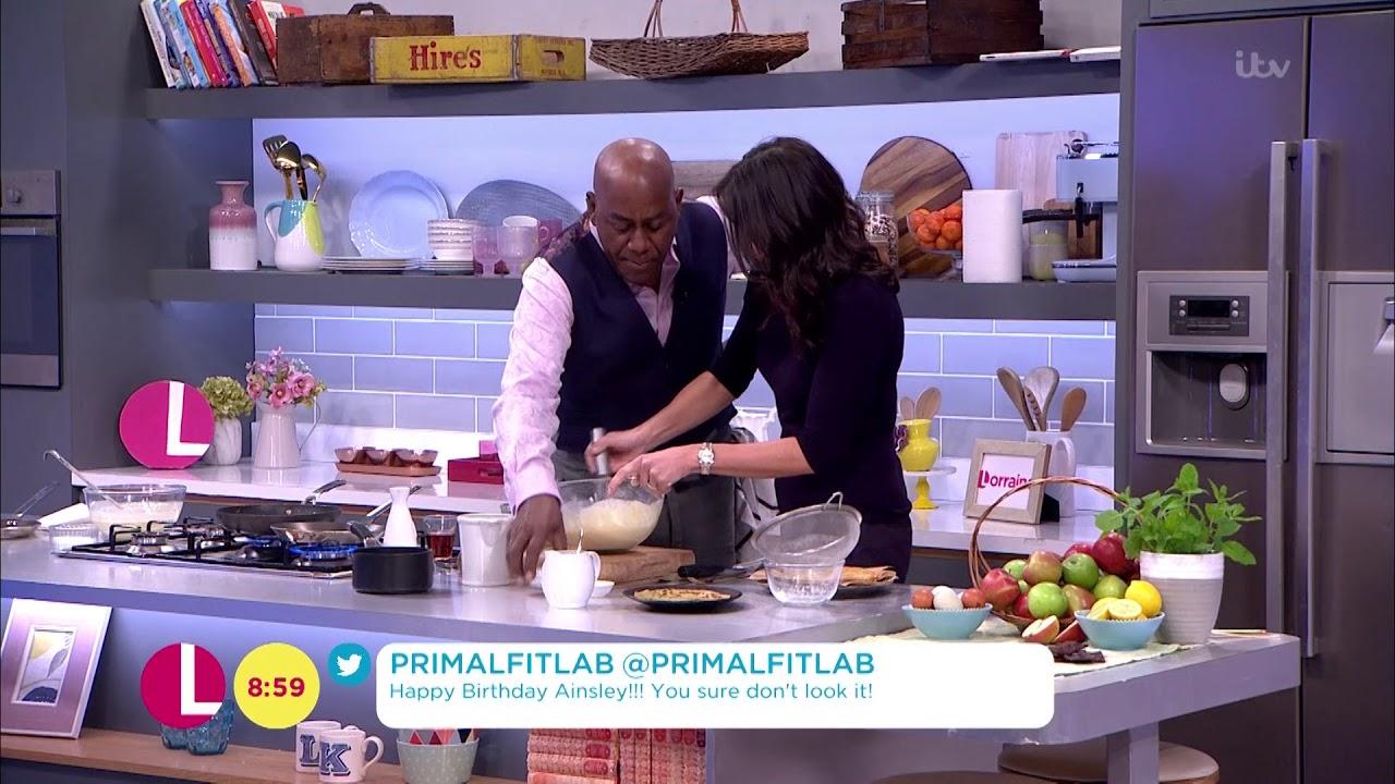 Ainsley Shows Christine His Own Pancake Recipe | Lorraine ...