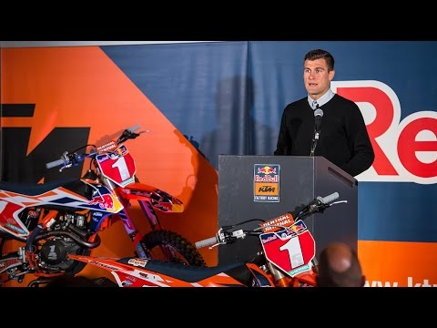 Racer X Films: Ryan Dungey Announces Retirement (Press Conference)