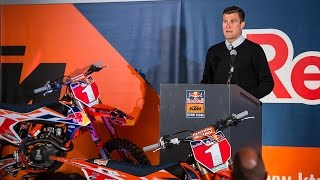 KTM held a press conference on May 16th at Angel Stadium in Anaheim...