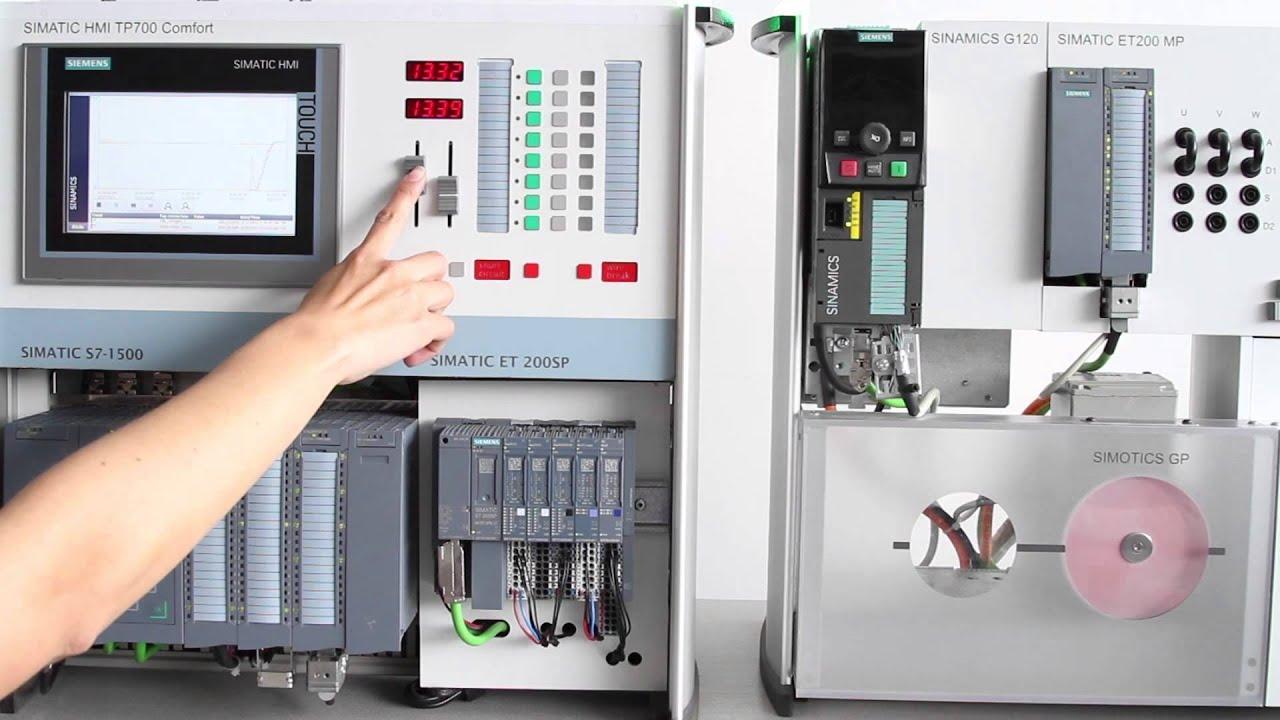 Sinamics G120 Control Wiring Diagram Horn Relay De Velocidad Y Posición Con Youtube