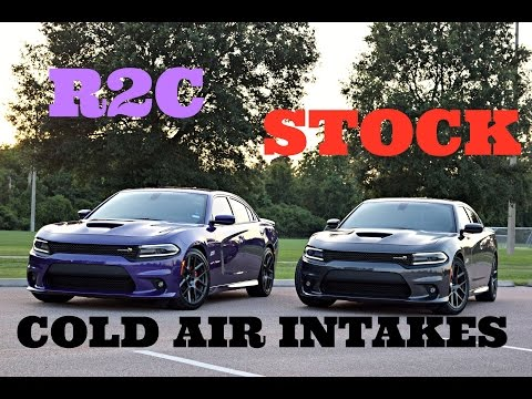 Stock Intake vs. R2C Cold Air Intake Testing - 2016 6.4L Scat Pack