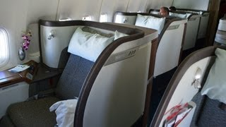 cathay pacific first class boeing 747 400 tokyo haneda to hong kong
