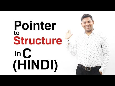 Pointer to Structure in C (HINDI)