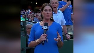 See Former President Bush Photobomb Reporter At Baseball Game thumbnail