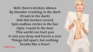 Mark Ronson | Nothing Breaks Like A Heart ft. Miley Cyrus (Lyrics)