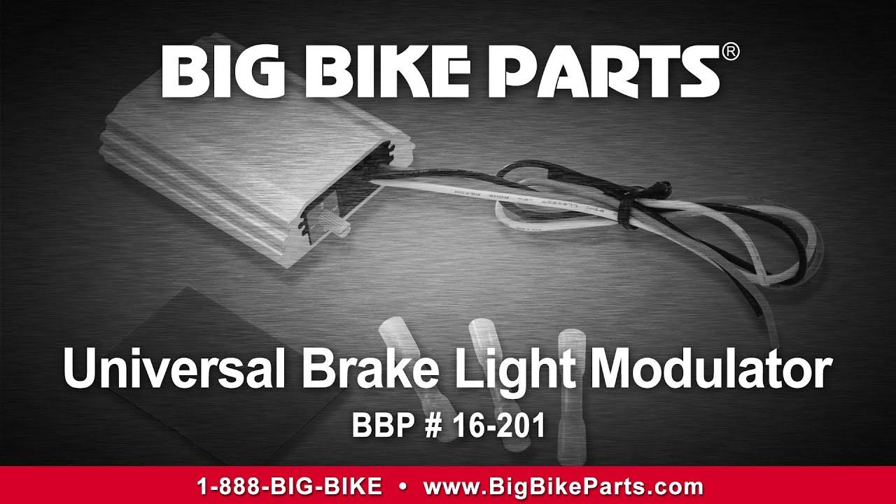 Big Bike Parts 16-201 Brake Light Modulator