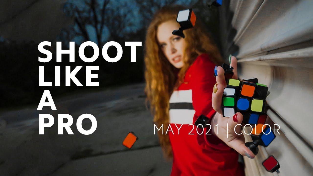 Colors at your fingertips   #ShootLikeAPro: May 2021 #Shorts