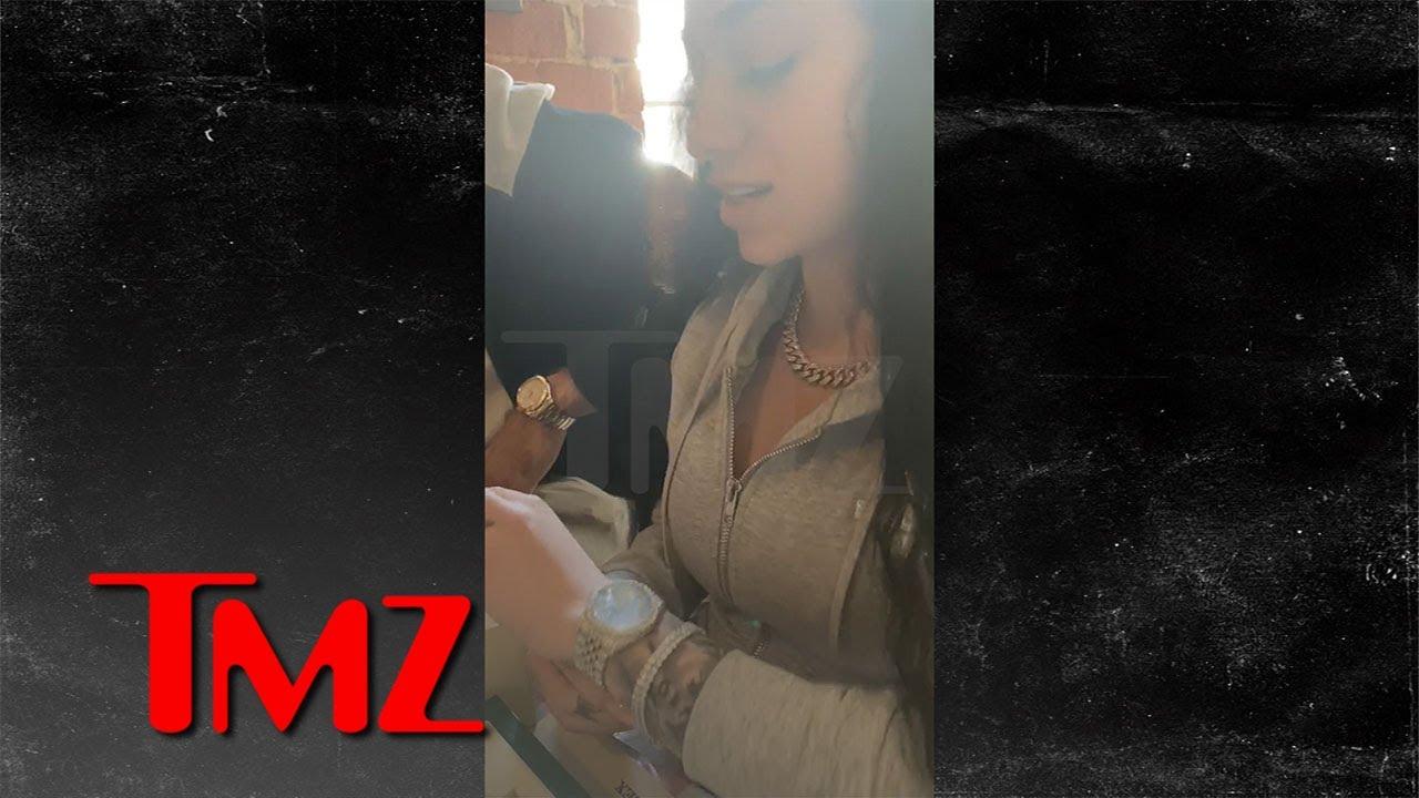 Bhad Bhabie Cures Social Media Troll Blues with $65K in Diamonds | TMZ