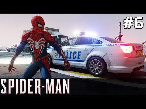 Spiderman PS4 Gameplay PL [#6] Napad na BANK & NOWE KOSTIUMY