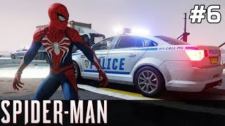 Spiderman PS4 Gameplay PL [#6] Napad na BANK & NOWE KOSTIUMY