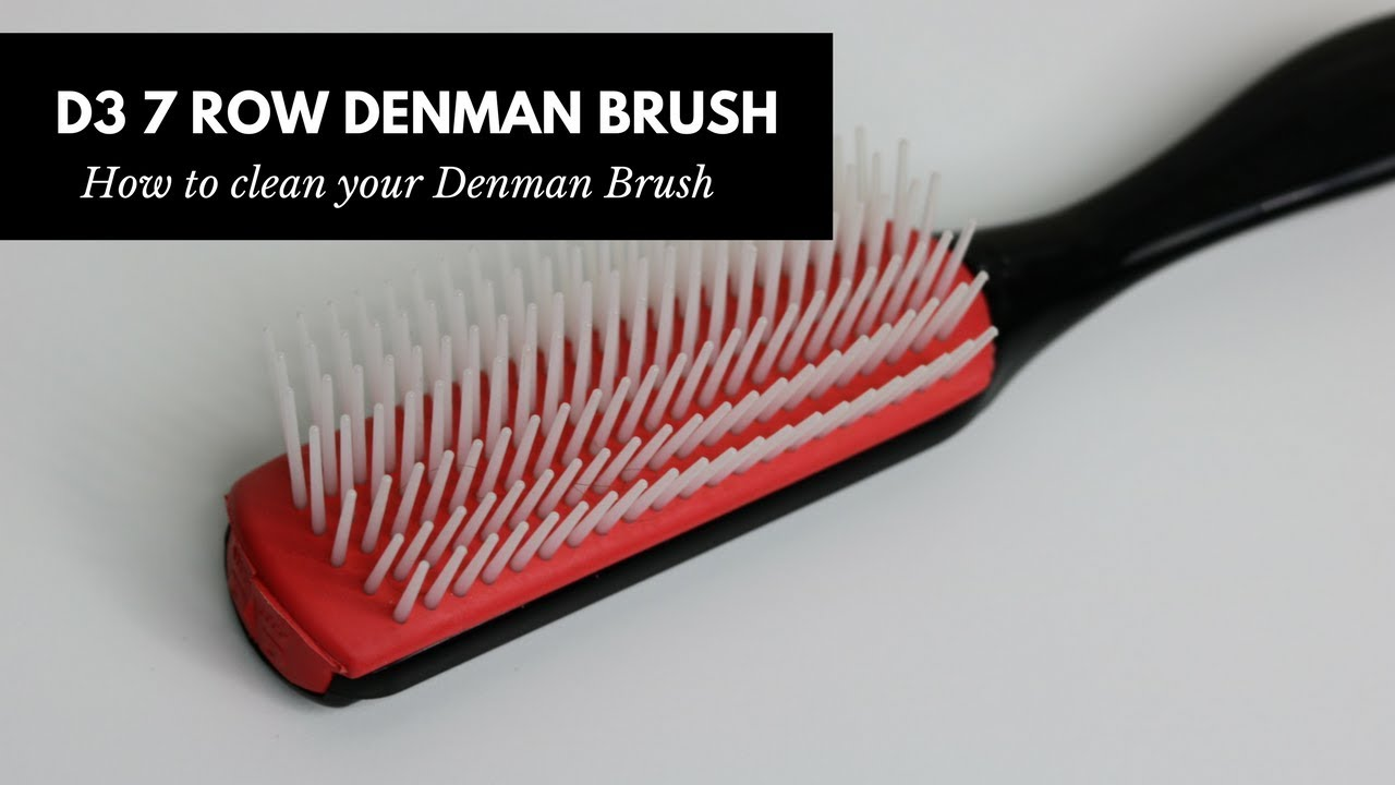 how to clean your denman brush the natural cole youtube. Black Bedroom Furniture Sets. Home Design Ideas