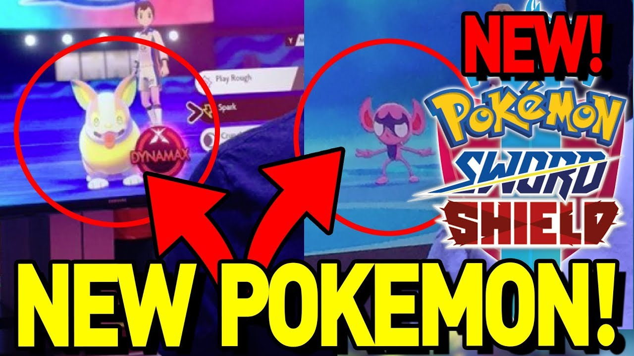 2 New Pokemon Revealed Yamper And Impidimp Pokemon Sword And