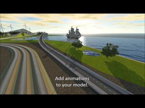 InfraWorks 360 Graphics and Visualization Features