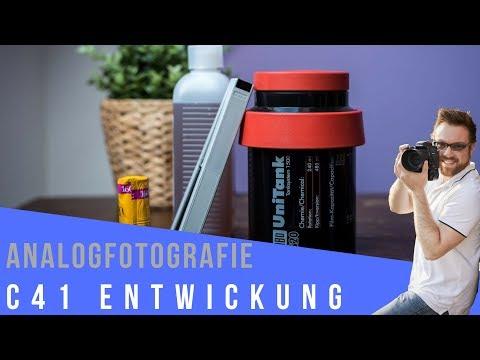 C41 Farbfilm Entwicklung selbst gemacht - Analogfotografie lernen