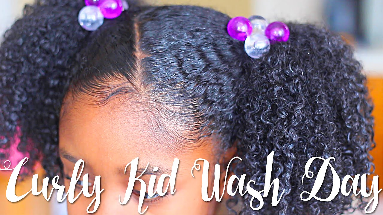 Curly Kid Wash Day Feat So Cozy Natural Hair Youtube