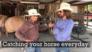 Catching Your Horse - Everyday Horsemanship Tips with guest Dale Brisby