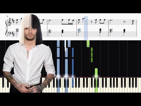 ZAYN - Dusk Till Dawn ft. Sia - Piano Tutorial + SHEETS
