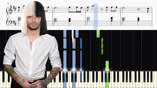 Video ZAYN - Dusk Till Dawn ft. Sia - Piano Tutorial + SHEETS download MP3, 3GP, MP4, WEBM, AVI, FLV Juli 2018