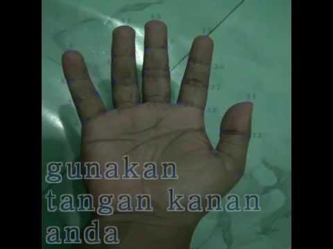 cara gunakan tangan sebagai tasbih ketika lupa bawa tasbih