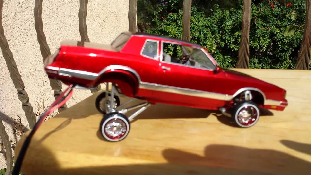 Chevy Monte Carlo 2015 >> 86 Chevy Monte Carlo Ls lowrider model car hopper - YouTube