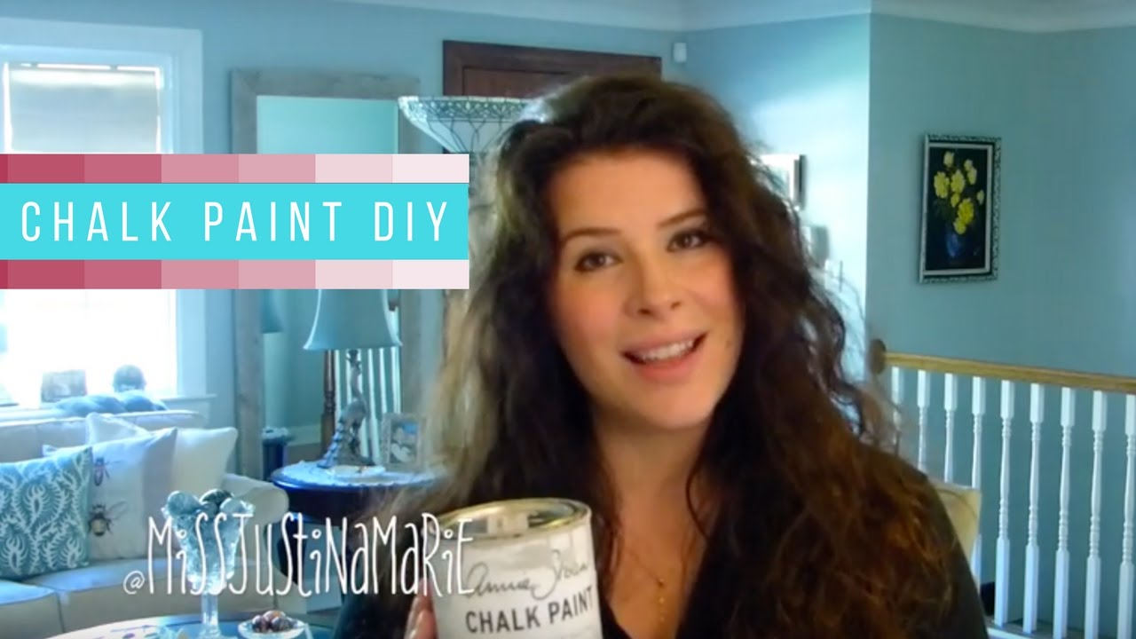 DIY Chalk Paint Your Kitchen Cabinets - YouTube