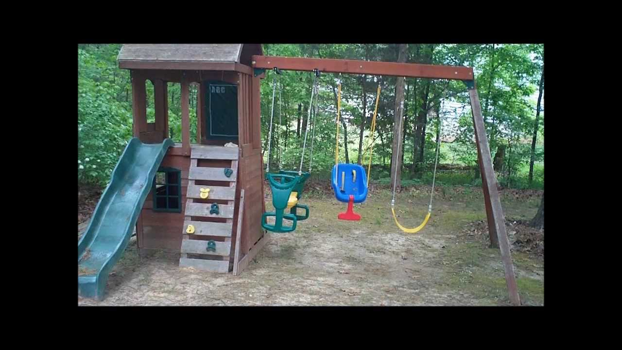 Securing Swing Set With Toci Ground Anchor Youtube
