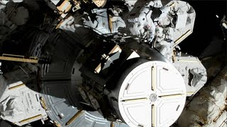 Watch NASA's first all-female spacewalk at the International Space Station