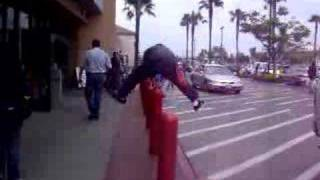 Leap Frog, in front of a WalMart