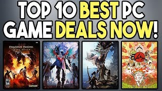 Top 10 BEST PC GAME Deals Right NOW - MH World, DMC 5 and MORE!