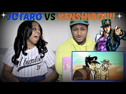 "ScrewAttack ""Jotaro VS Kenshiro (JoJo's Bizarre Adventure VS Fist of the North Star) "" REACTION!!"