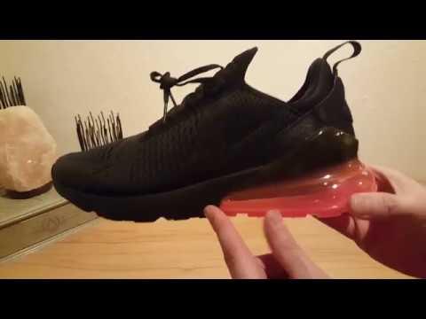 Unboxing Nike Air Max 270 OG BlackRed (Pink) Deutsch German