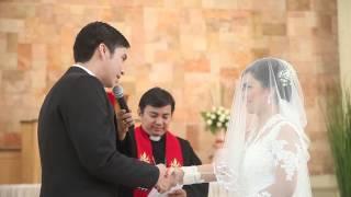 Pemberkatan Pernikahan Vicia Simson by Thepotomoto