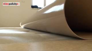 Pokládání PVC podlahy, lepení, svařování, lištování PVC